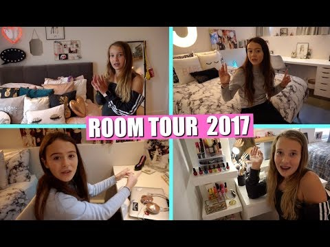 ROOM TOUR 2017!   GIRLYS BLOG