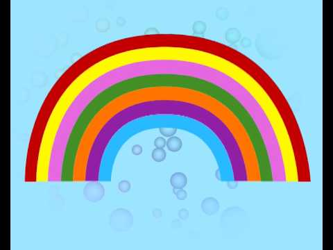 Rainbow song - from the Kid's Box Level 1 interactive DVD
