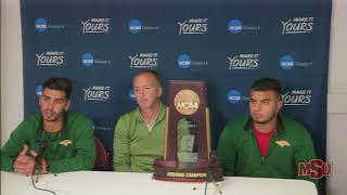 Postgame Press Conference after Claiming 2017 West Region Title