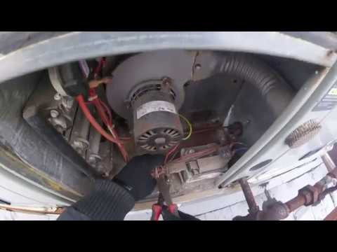 HVAC: Gas Furnace Vent Motor Replacement/Install (Trane RTU)