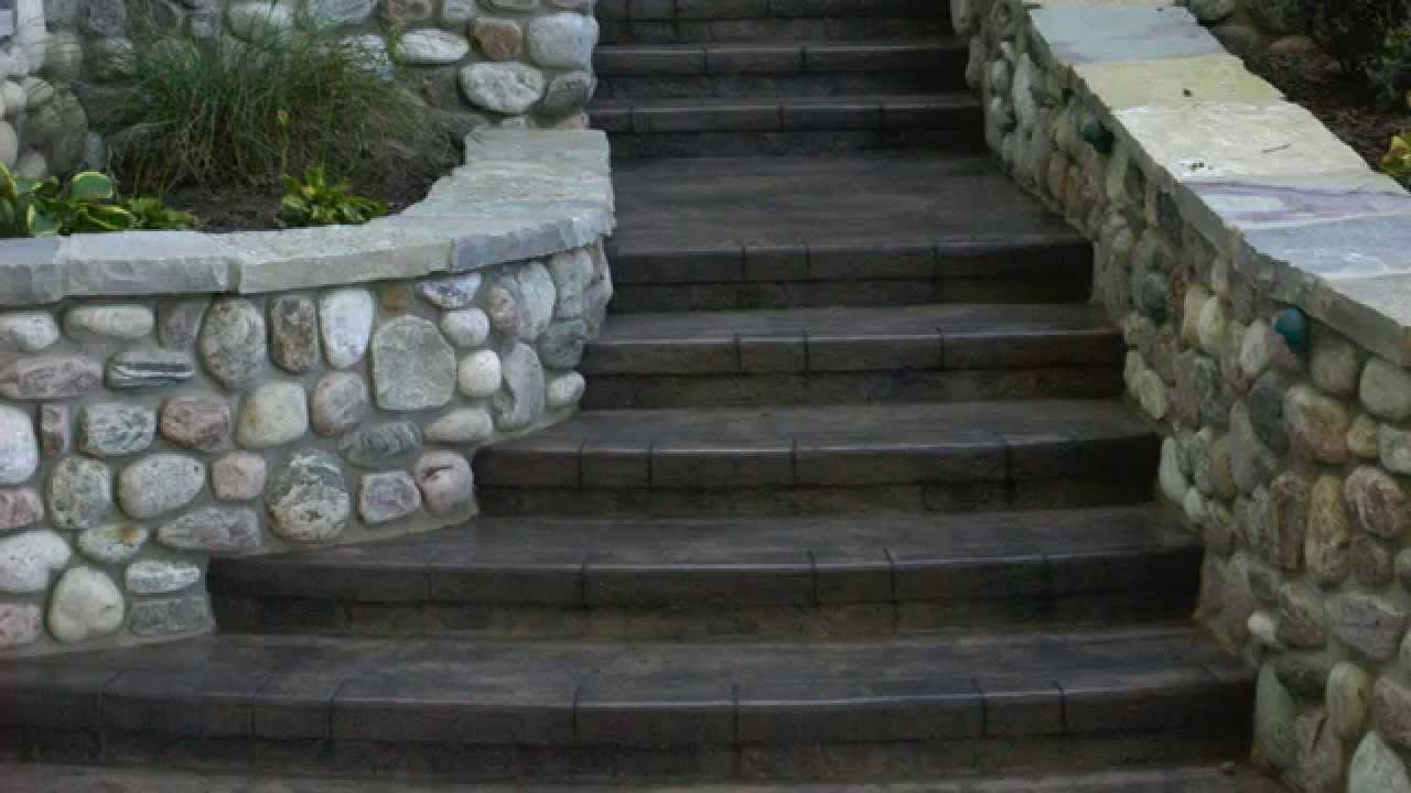 Stamped Concrete Design Ideas stamped concrete patterns bacchus construction stamped concrete patterns Stamped Concrete Overlay Mix Design Ideas Youtube