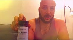 Lazarus Naturals 25mg CBD Capsules Vegan Friendly Anti-stress Anti- anxiety Review