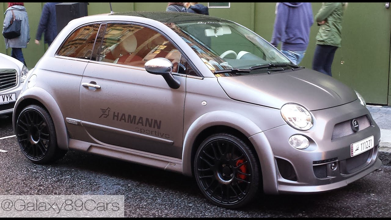 Hamann Abarth 595 in London! - YouTube