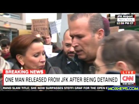 Iraqi Detained At JFK Airport Speaks To Press After His Release