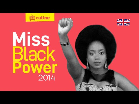 CULTNE DOC - Miss Blackpower  Brazil Contest 2014