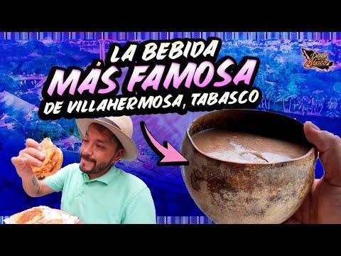 EL MERCADO DE VILLAHERMOSA, Tomamos Pozol, Cochinita y un buen CHURRO
