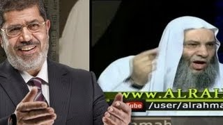 الشيخ محمد حسان للرئيس مرسي لن ينصرك الله اذا فتحت الباب للشيعة في مصر وبئست المصلحة مع ايران