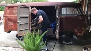 VW Restoration! Volkswagen Kombi - RESURRECTION RESTORATION!!! 1962 VW Type 2 Van/Bus, VW Kombi