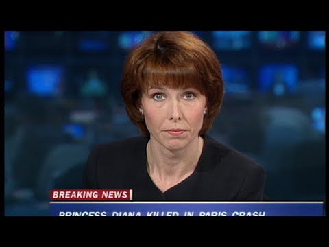 Kay Burley announces the death of Princess...