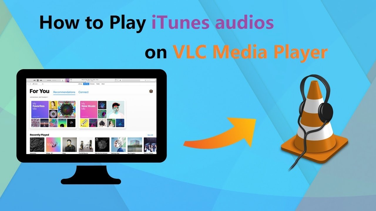 How to Play iTunes and Audible Audiobooks in VLC Media Player