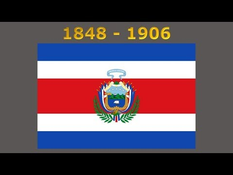 history of the costa rican flag youtube