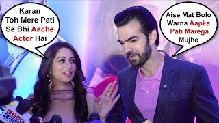 Dipika Kakar And Karan V Grover At Kahan Hum Kahan Tum Show Launch