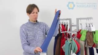 06 Шерстяной Шарф Disana Merino Wool  - обзор