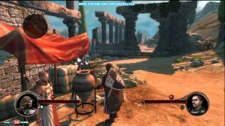 The First Templar Demo Gameplay With Commentary xbox 360