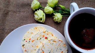 Домашний сыр за 20 минут. Домашний сыр с перцем и зеленью. Вкусно, быстро, не дорого.