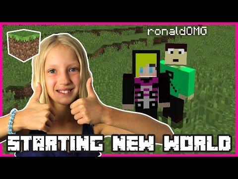 Starting A New World   Minecraft