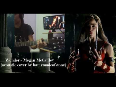 Wonder - Megan McCauley {acoustic cover}