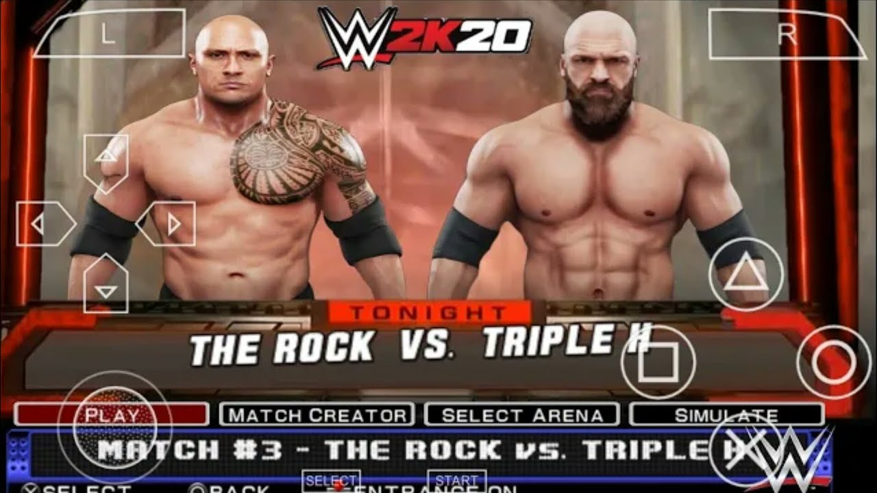 [250 MB] DOWNLOAD WWE 2K19 PPSSPP GAME FOR ANDROID