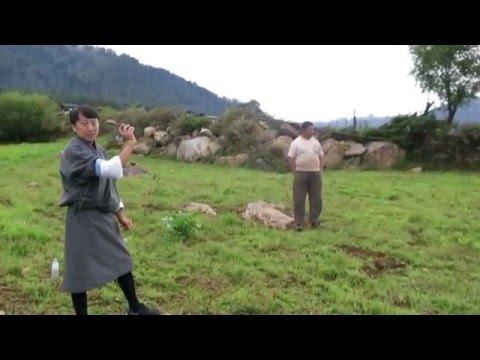 Khuru (Bhutanese Dart Game)