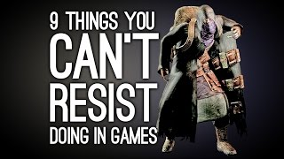 9 Things You Can't Resist Doing in Videogames thumbnail