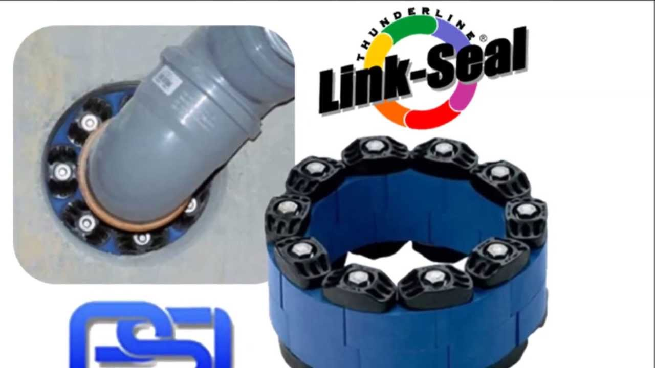 pipe penetration link seals