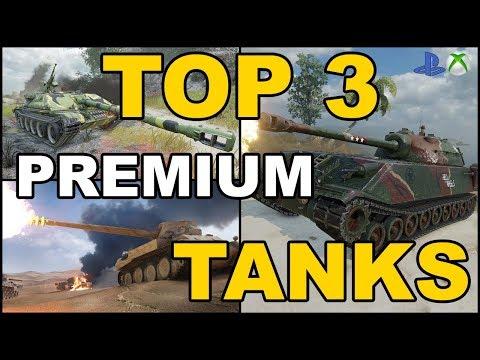 Top 3 Czołgi premium poziom 8 World of Tanks Xbox One/Ps4