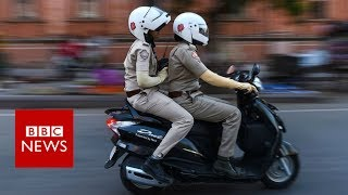 India's all women police fighting sexual harassment  BBC News