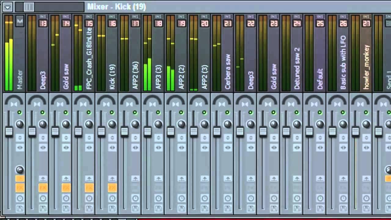 FL Studio 10 - Making Stems Tracks in 3 steps