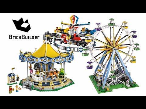 All Creator Amusement Park Atraction Compilation - Lego Speed Build