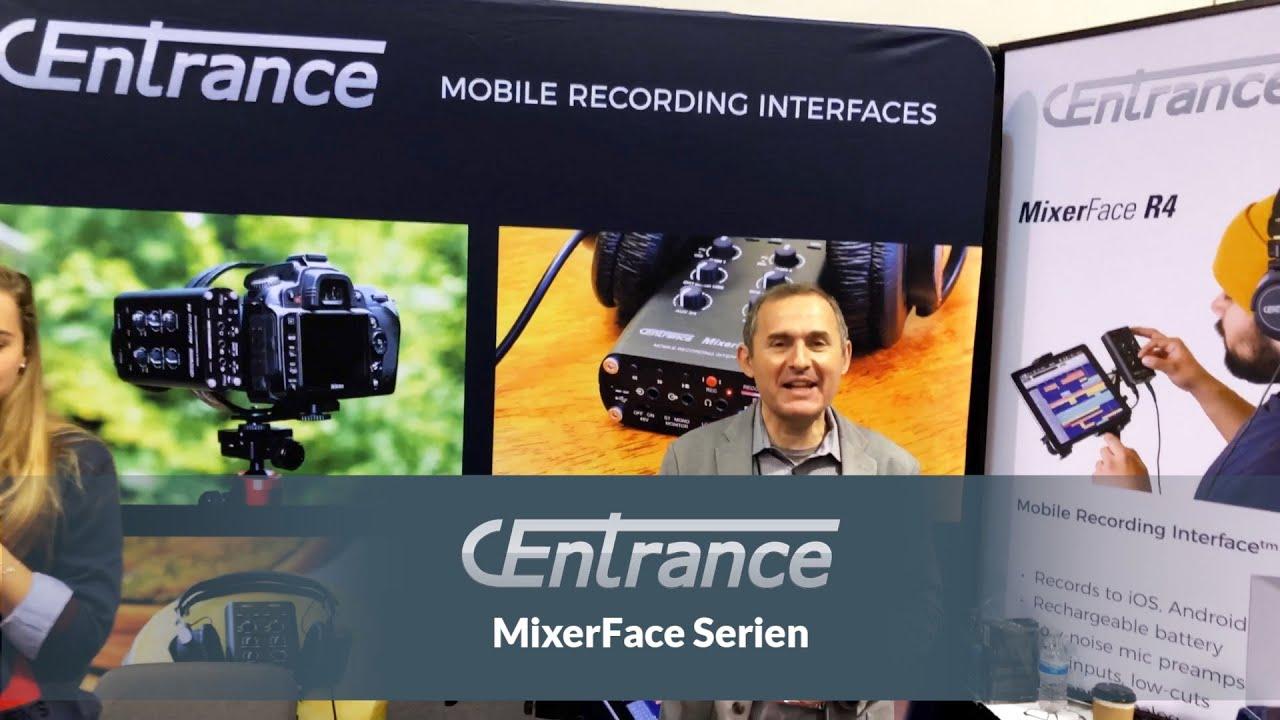 CEntrance MixerFace R4B SD Recorder+ Mic R4R SD recorder med stereo