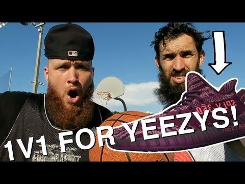1V1 BASKETBALL FOR YEEZYS!!! FOAMIE VS BUCKETS!!!