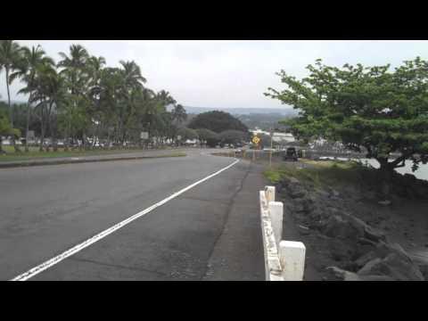 Hilo Hawaii Life, The Morning Walk from Wainaku to Coconut Island