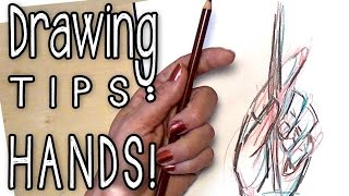 Drawing HANDS - How To Art #7