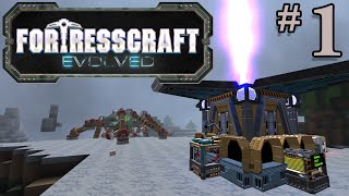 FortressCraft Evolved Gameplay - #1 - Automate Everything!