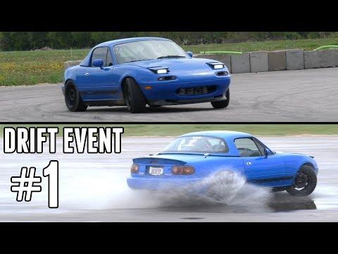 Turbo Miata Drift Event #1 - Finally Getting the Hang of Drifting!