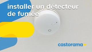 Installer un détecteur de fumée (Castorama)