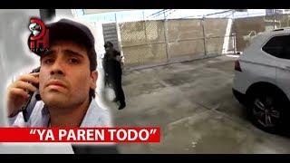REVELAN VIDEO SOBRE DETENCIÓN DE OVIDIO GUZMÁN LÓPEZ