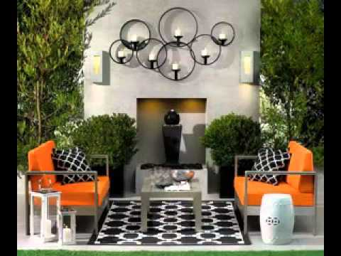 DIY Small patio decorating ideas - YouTube