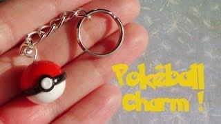 Pokémon: Pokéball Charm- Polymer Clay Tutorial