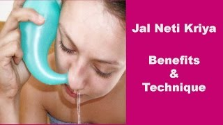 Jal Neti Kriya  It's Technique And Benefits