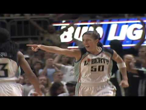 Rebecca Lobo Drops 20 Points and 7 Rebounds vs Rockers in 1997