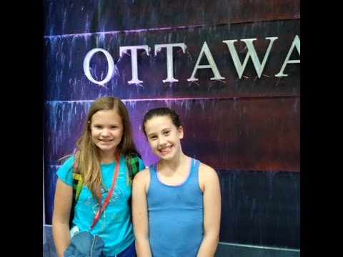 2015 July in Ottawa and Katka Visiting