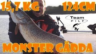 Monster gädda 15,7kg - Team PILF