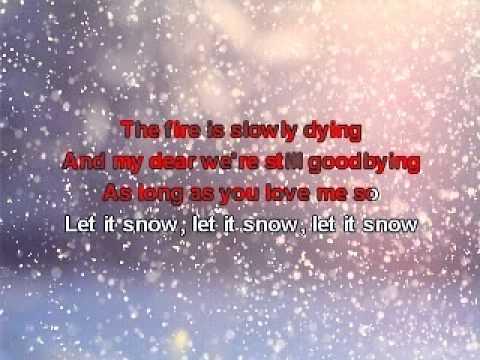 Karaoke - Frank Sinatra - Let it Snow (by 212) .avi
