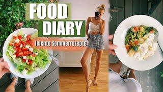 FOODDIARY SOMMER 2019 // leichte, gesunde & vegetarische Rezepte