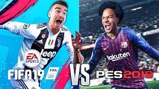 Ist PES 2019 besser als FIFA 19 ???