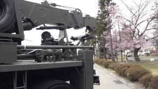 装備品展示 陸上自衛隊仙台駐屯地 創設54周年記念行事 2012/04/21