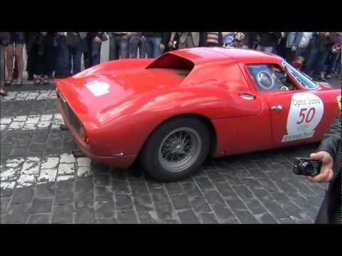 Ferrari 250 LM on the road - revs, sound and combo