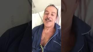 Massimo Lopez: «Grazie alla straordinaria equipe medica e infermieristica dell'Ospedale di Andria»