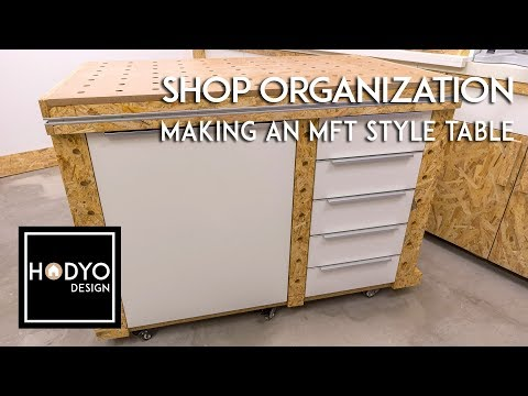 MFT Style Assembly/Outfeed/Workbench Tables